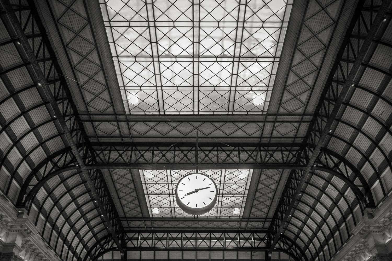 Gare Bordeaux St Jean Horloge Bordeaux Août 2017