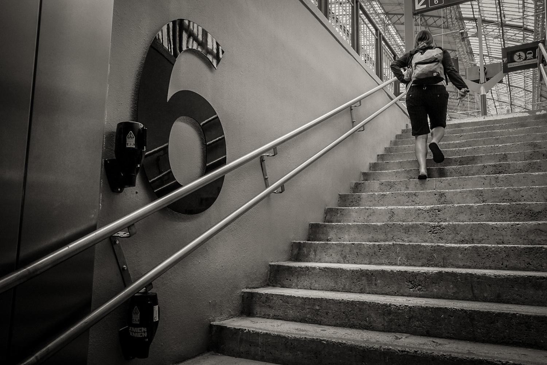 Départ voie 6