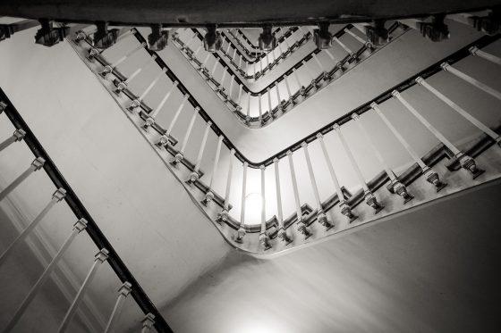 Escalier de la comédie francaise