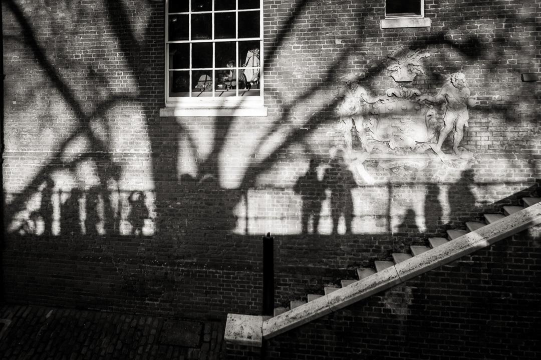 Ombres des fantômes de la Tour de Londres
