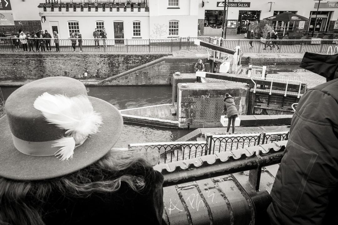 Passage d'écluse sur le Regent's Canal