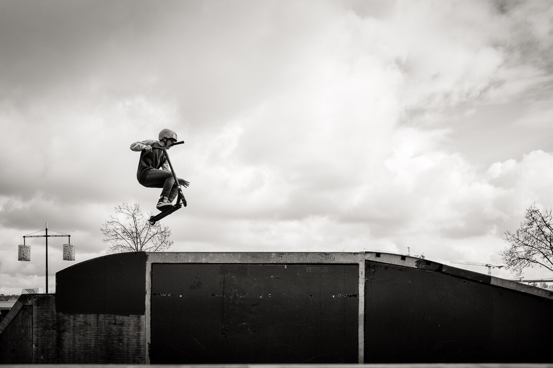 Comment traiter un sujet photo ? L'exemple du Skate Park Colbert de Bordeaux.