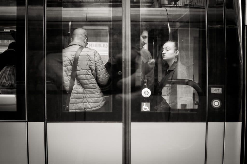 Photographie de rue, essayez les transports en commun
