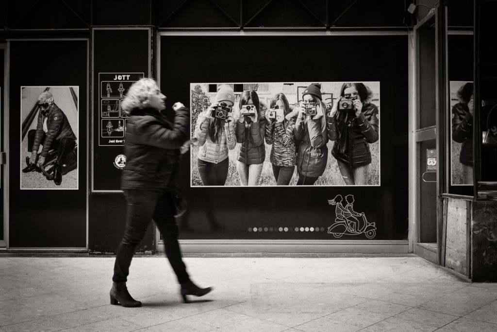 Un exemple de l'application des 3 règles de la photo de rue