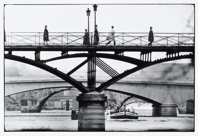 La passerelle du pont des Arts Willy Ronis