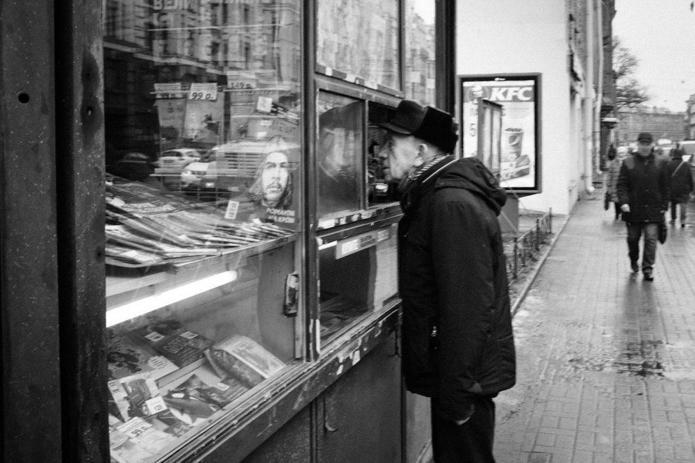 street photography et le Che.