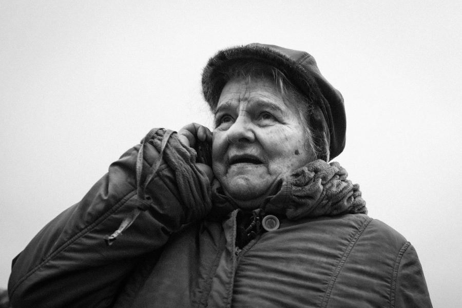 Street Photo. St Petersburg Portrait