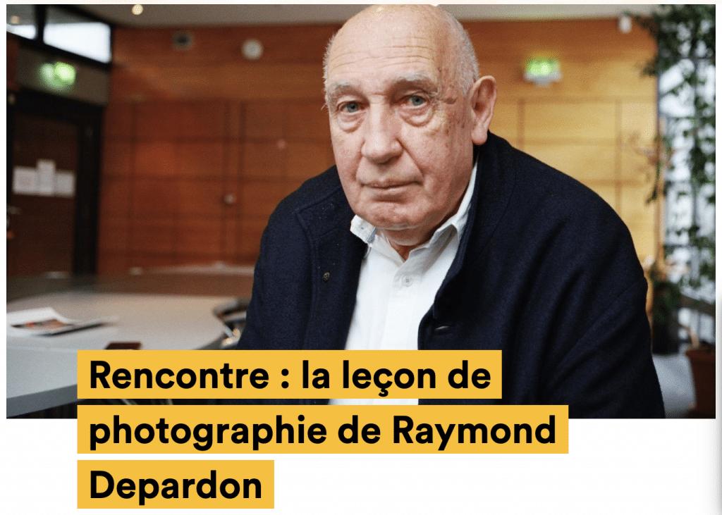 Interview Depardon sur Konbini.com