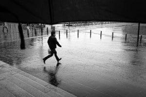 Le parapluie idéal pour la photo sous la pluie