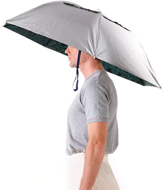 Chapeau parapluie une solution pour la photo sous la pluie ?