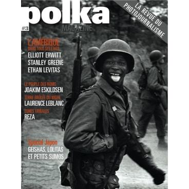 Polka : Une d'un magazine actuel