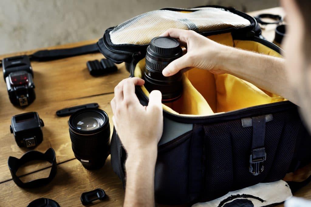 Le sac du voyage photo
