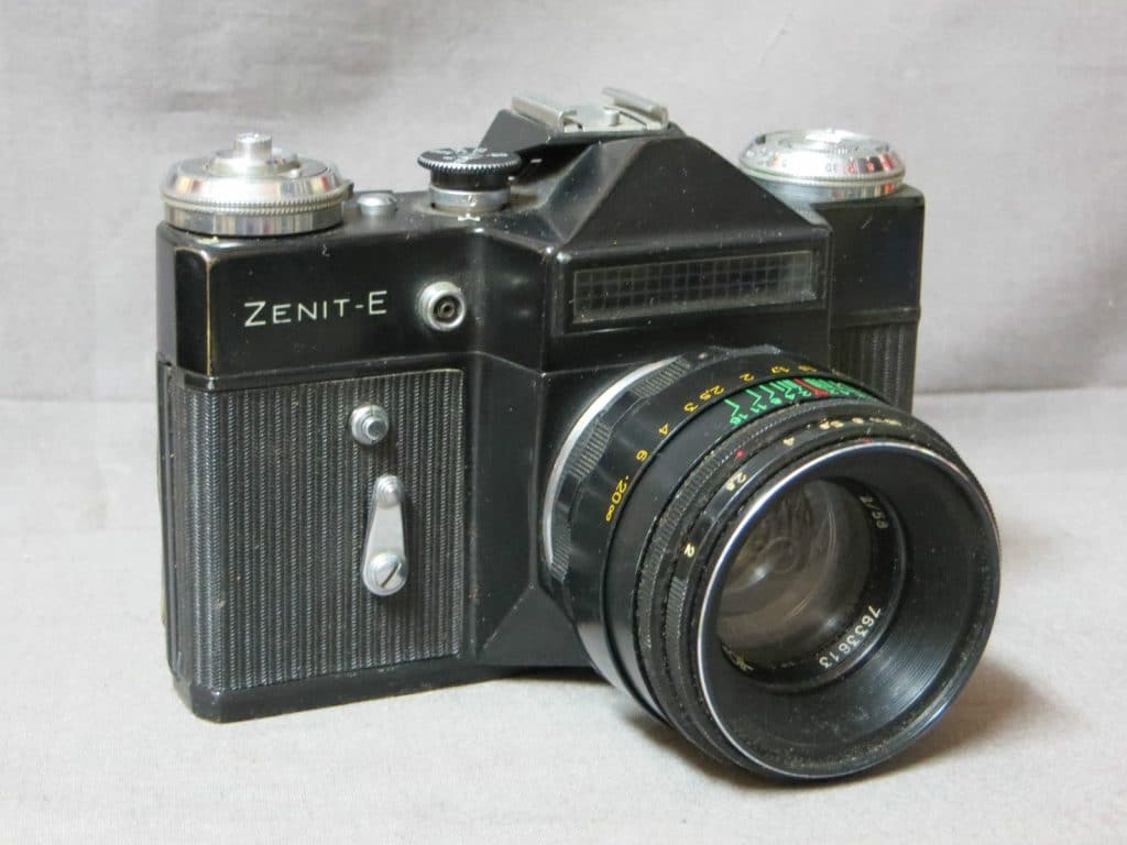 Mon premier appareil : Zenit